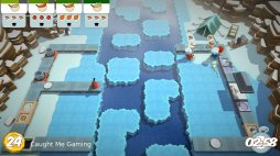 Arctic kitchen. One of the many layouts offered in Overcooked