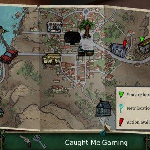 9 Clues map